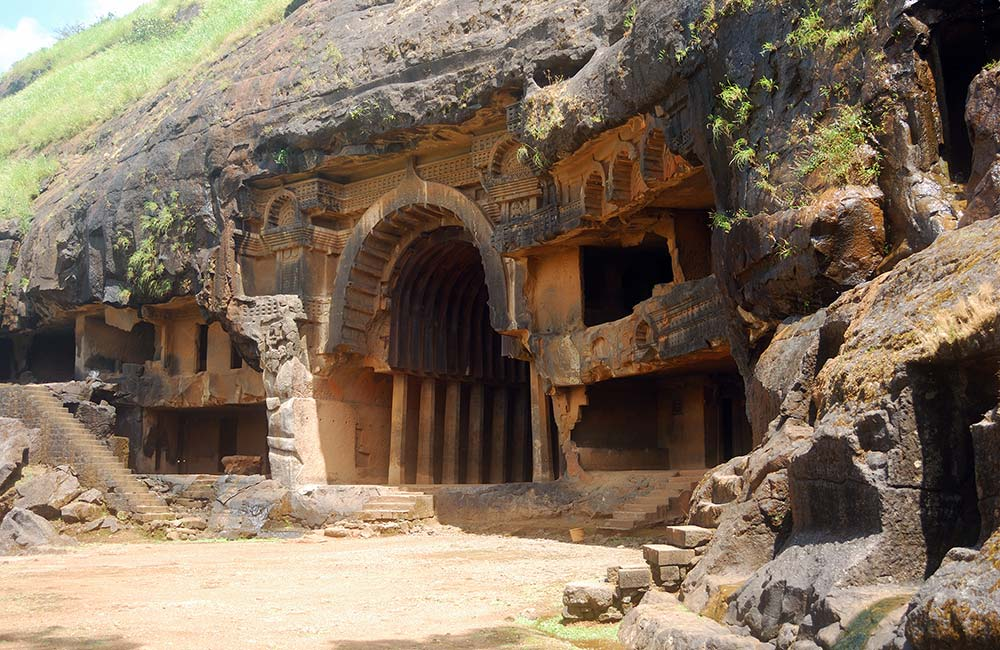 Visit Bhaja Caves in Lonavala