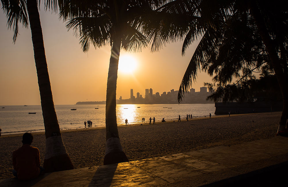 Chowpatty beach | #9 of 9 Best Places to Visit in Mumbai with Friends