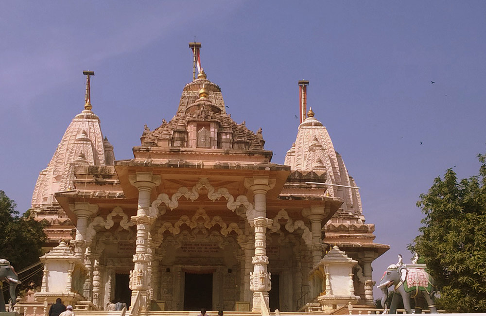 Hinkar Thirtha Jain Temple, Vijayawada