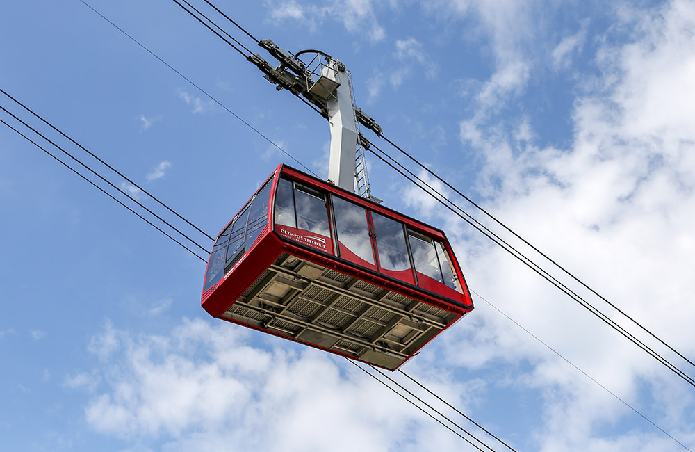 Thrill of Ropeway Ride