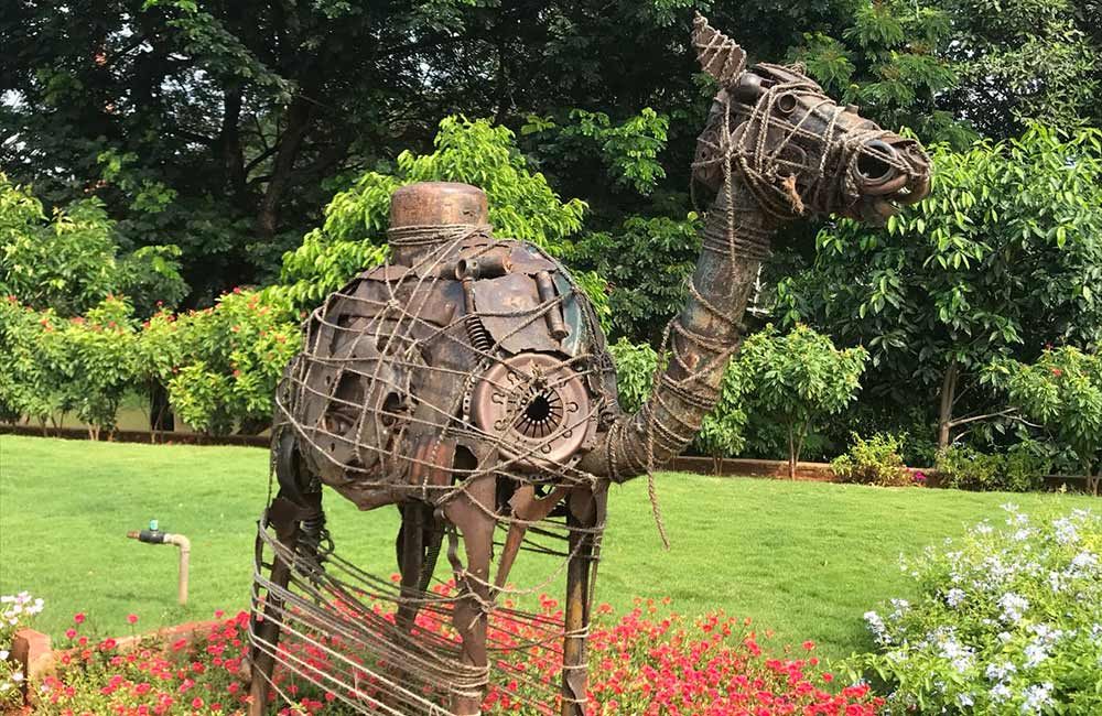 Scrap Sculpture Park,Vijayawada