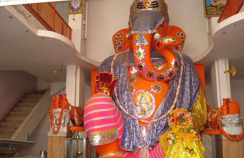 Bada Ganapati Temple, Indore