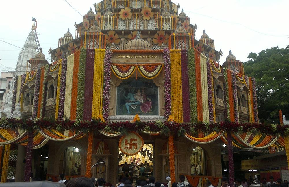 Dagadusheth Halwai Ganapati Temple, Pune