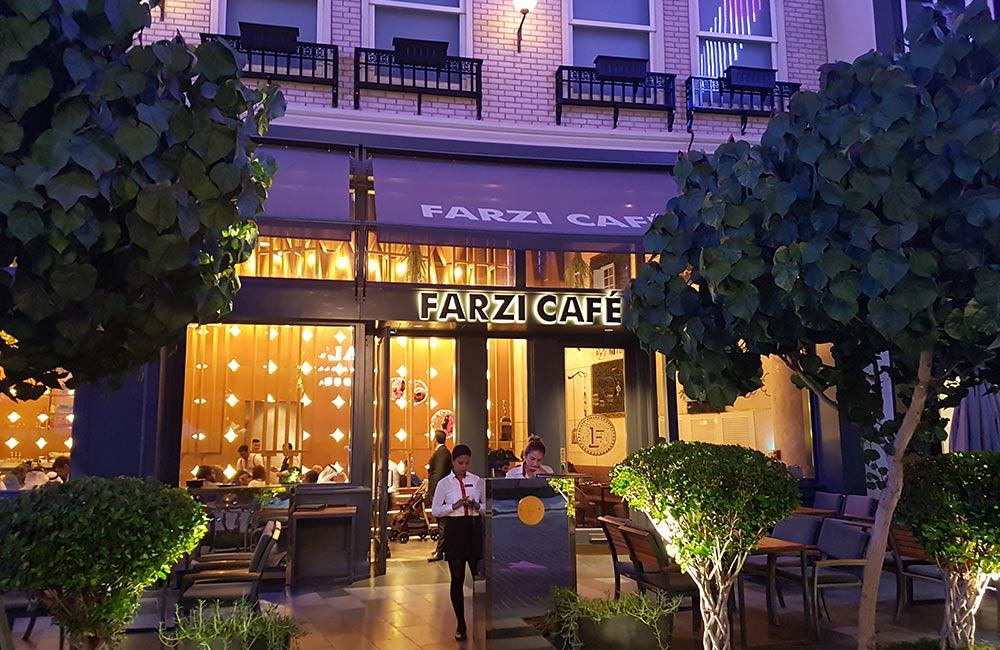 Farzi Café, Lucknow