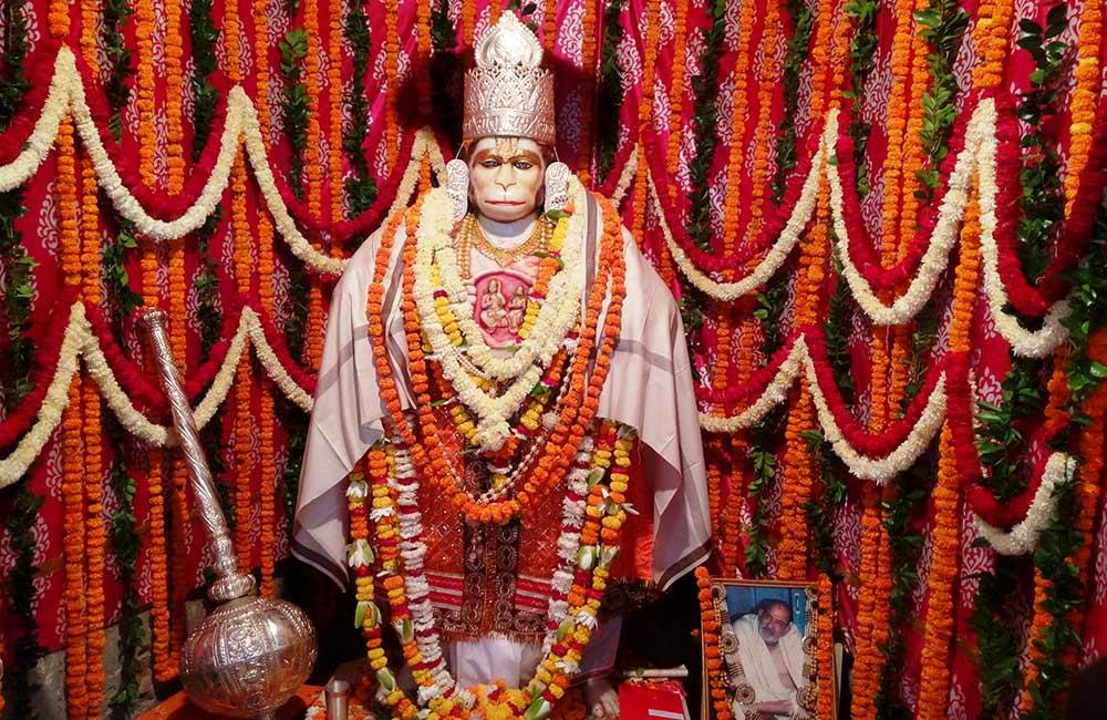 Hanuman Setu Mandir, Lucknow