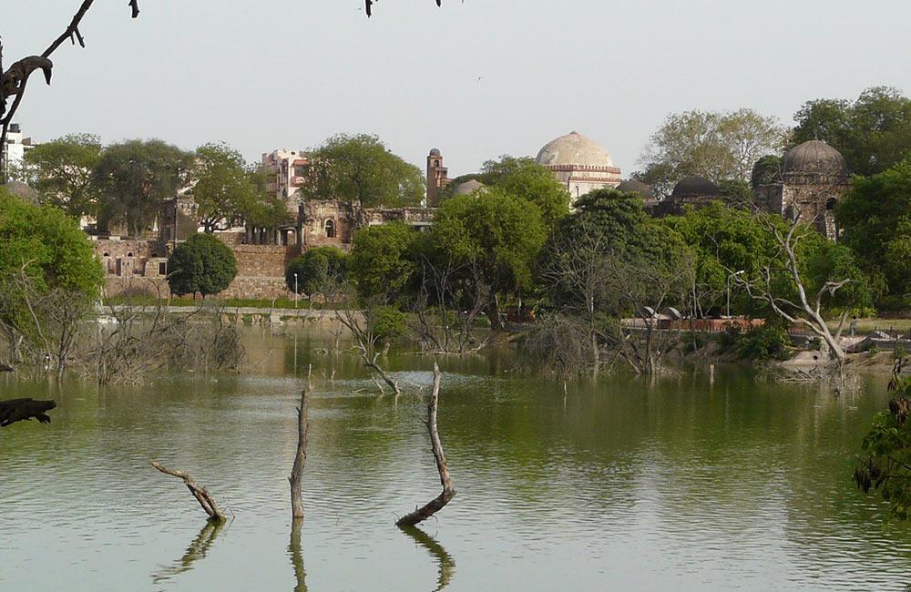 Hauz Khas Tank, New Delhi