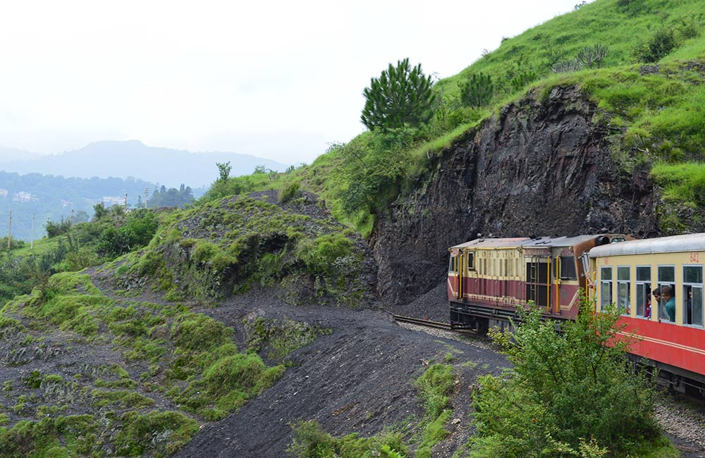 Take the Kalka - Shimla Toy Train Ride