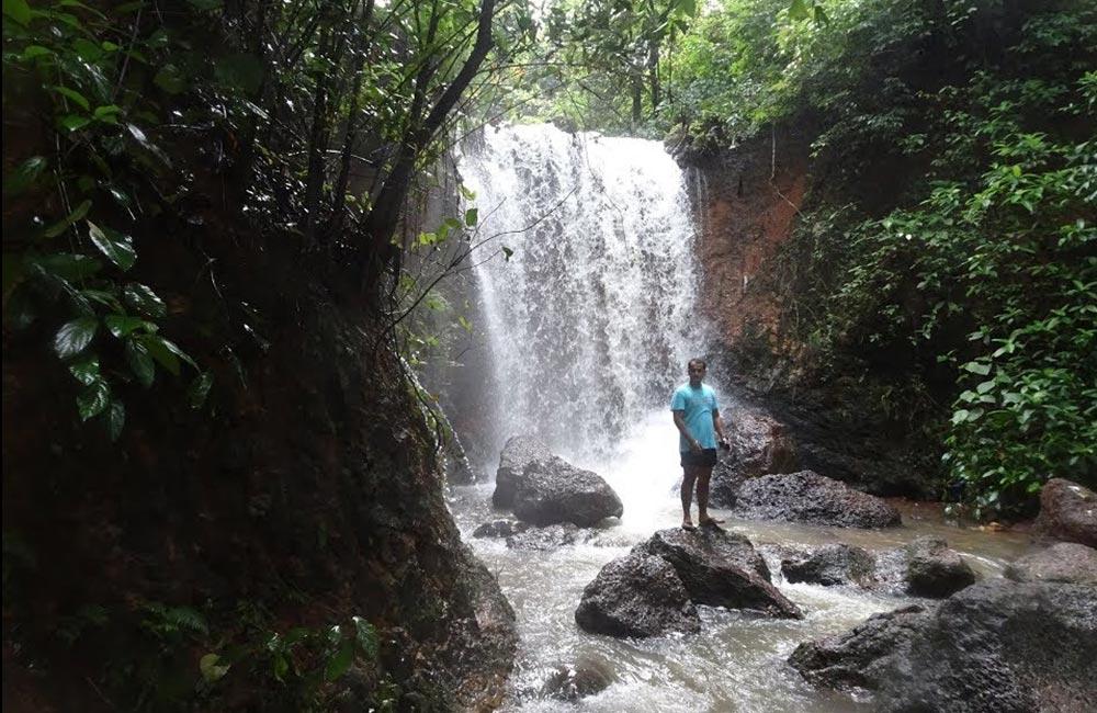 Kesarval Falls, Goa