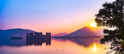 The Regal Bearing of the Lakes in Jaipur