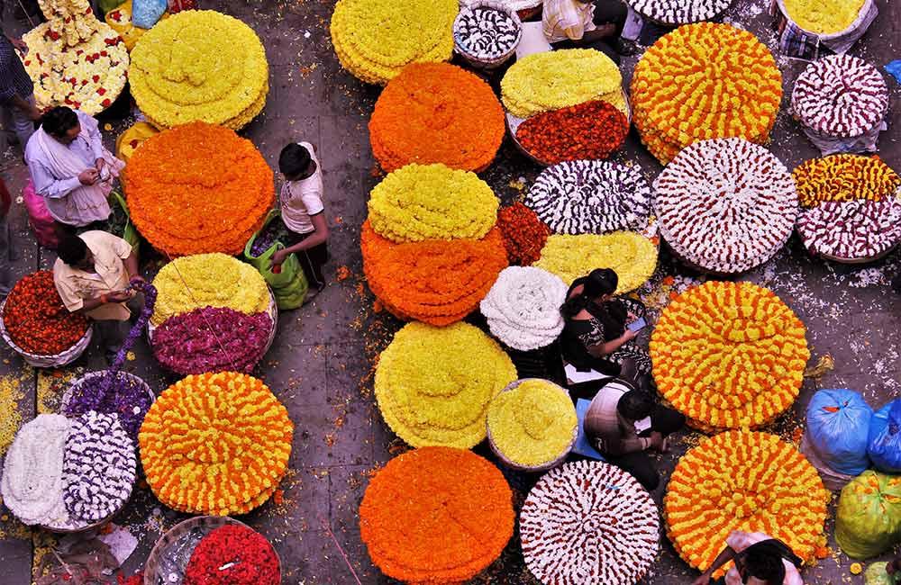Malleswaram Market, Bangalore