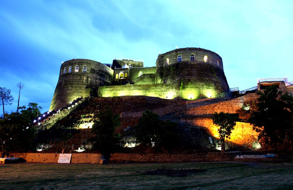 Ramshehar Fort, Chandigarh
