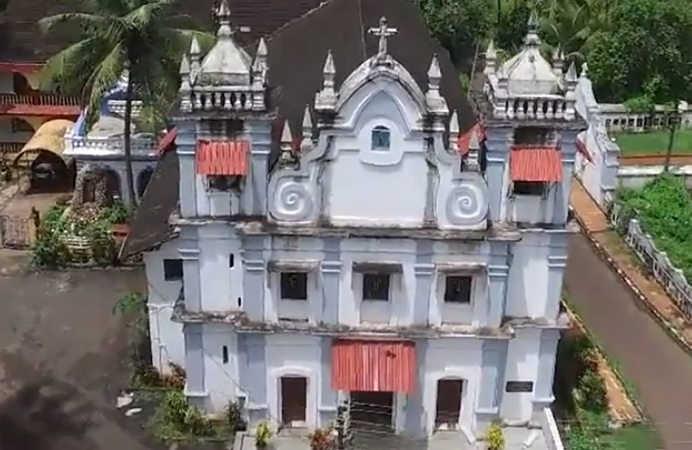 Clara's Church, Goa