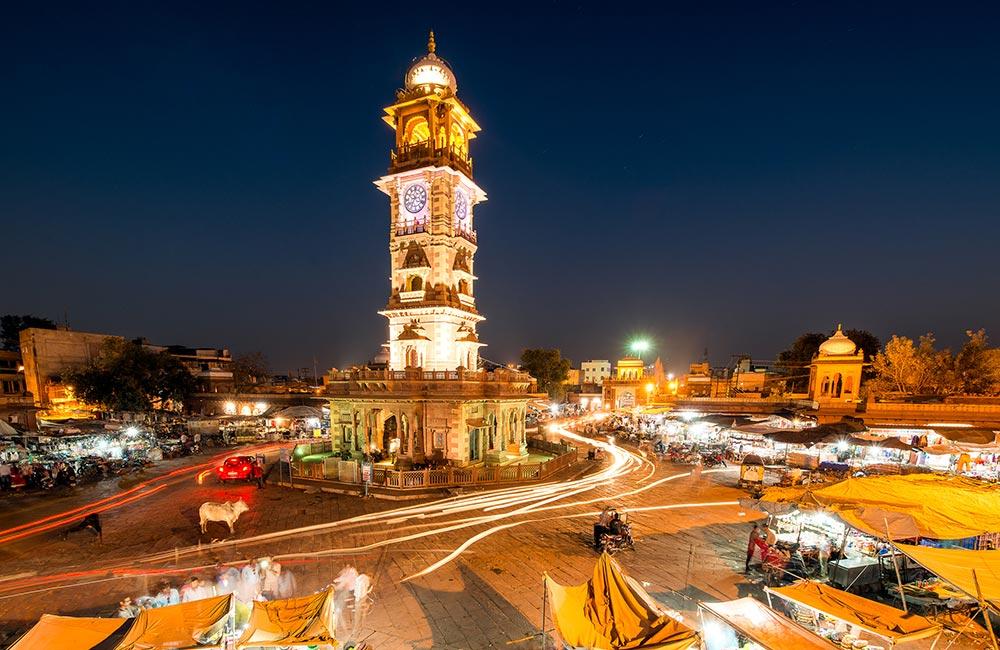 Walking Tour of Ghantaghar | #5 of 20 Things to Do in Jodhpur
