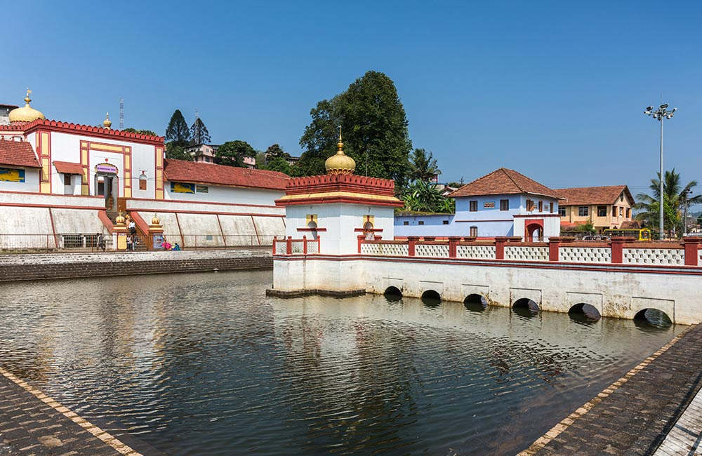 The Omkareshwara Temple, Coorg