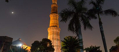 Delhi's Historical Monuments Are Not Surrounded by Darkness Anymore