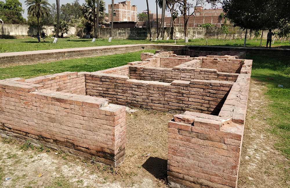 Ruins of Pataliputra, Patna