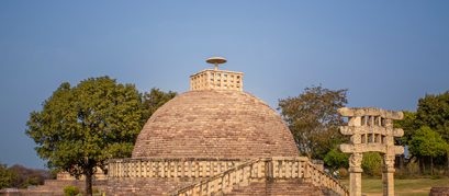 The Great Sanchi Stupa: An Ancient Buddhist Monument