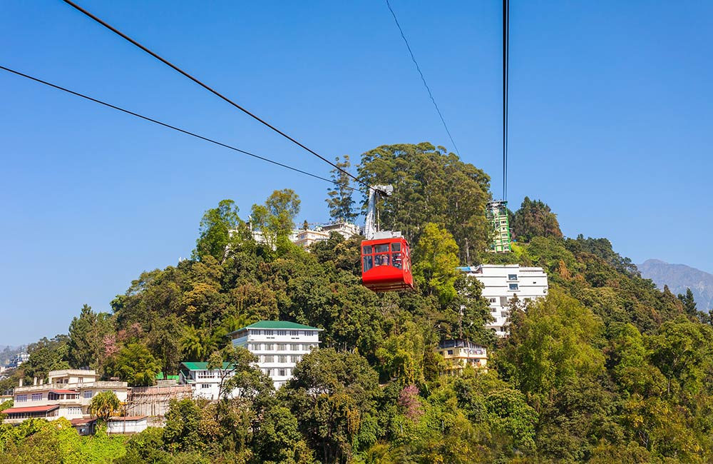 cable car ride, Gangtok