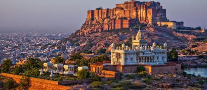 Mehrangarh Fort: A Formidable Fort that Offers Commanding Views of Jodhpur