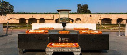 Raj Ghat: An Elegant Memorial Dedicated to Mahatma Gandhi
