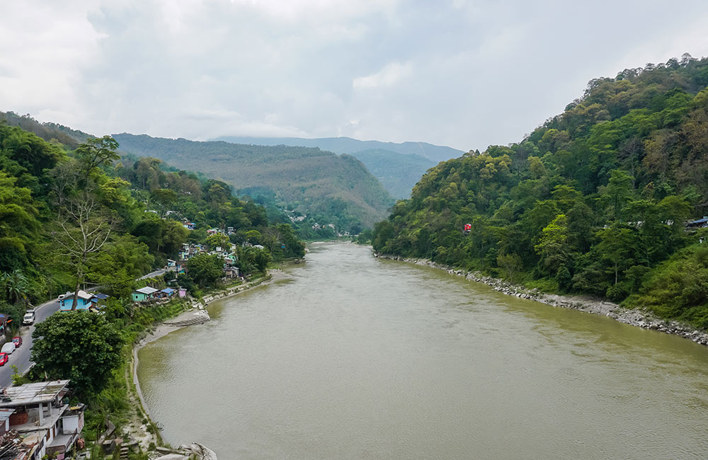 Teesta River, Gangtok