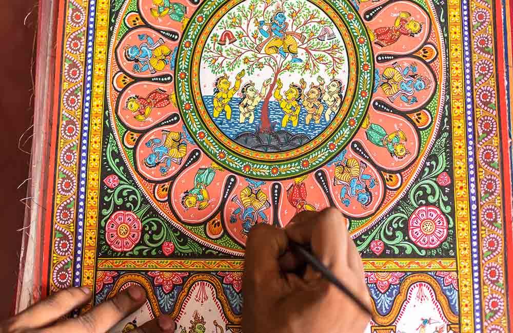 Raghurajpur Artist Village, Puri