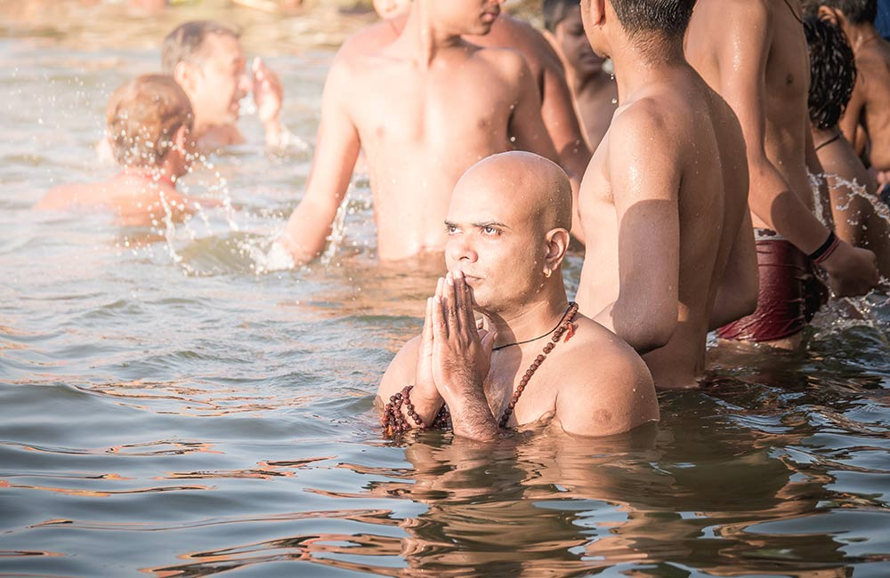 Take a dip in the Ganga