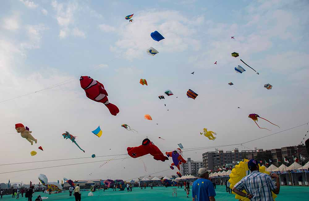 International Kite Festival, Gujarat