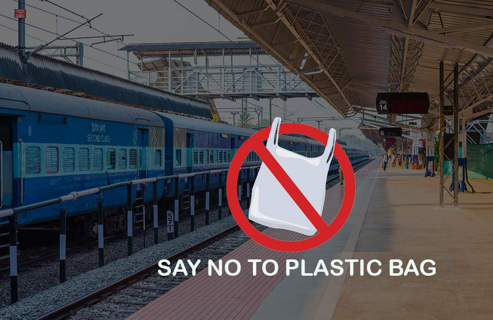 No Plastic Bags | Indian Railways to Go Green with a Ban on Single-Use Plastic