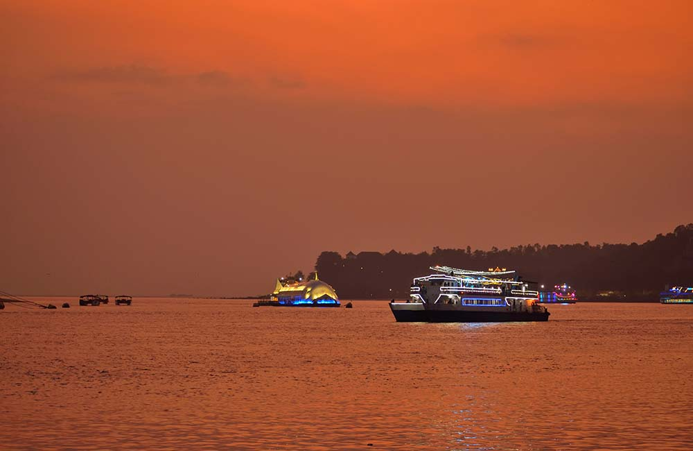 Boat cruise on River Mandovi | 3-Day Trip to Goa