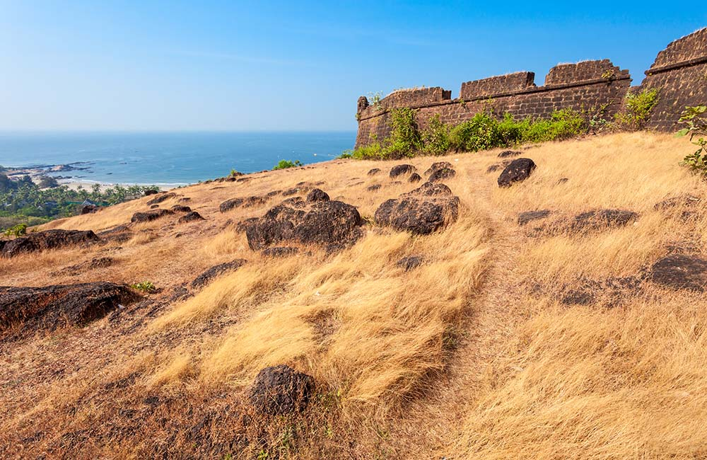 Chapora Fort | 3-Day Trip to Goa