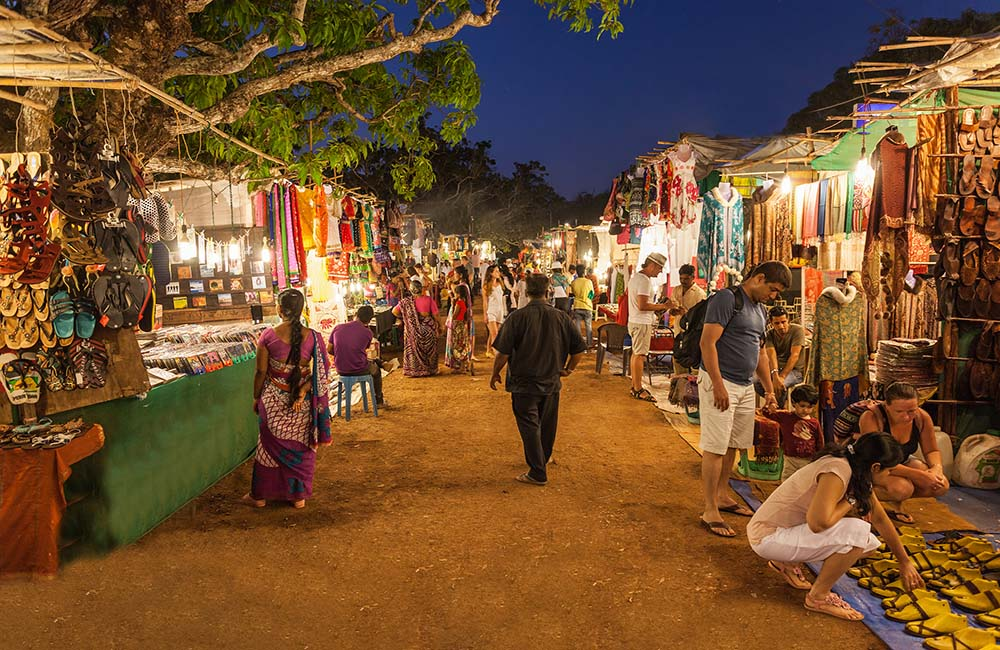 NIght Market in Goa | 3-Day Trip to Goa
