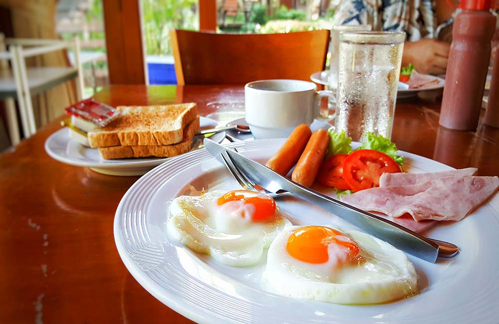 Breakfast in North Goa | 3-Day Trip to Goa