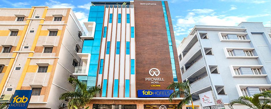 FabHotel Prowell Crown, Madhapur | #7 of 10 Top Budget Hotels in Hyderabad